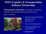 nepa logistics transportation industry partnership5