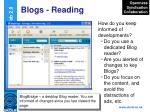 blogs reading