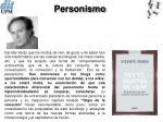 personismo