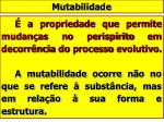 mutabilidade