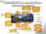 catalizadores en la industria qu mica petroqu mica b sica