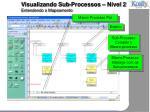 visualizando sub processos n vel 2 entendendo o mapeamento