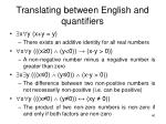 translating between english and quantifiers38