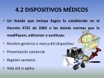 4 2 dispositivos m dicos