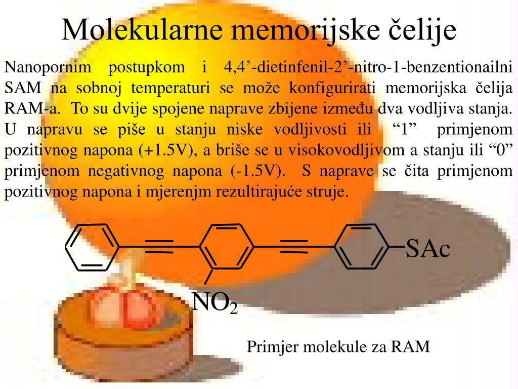 Molekularne memorijske čelije