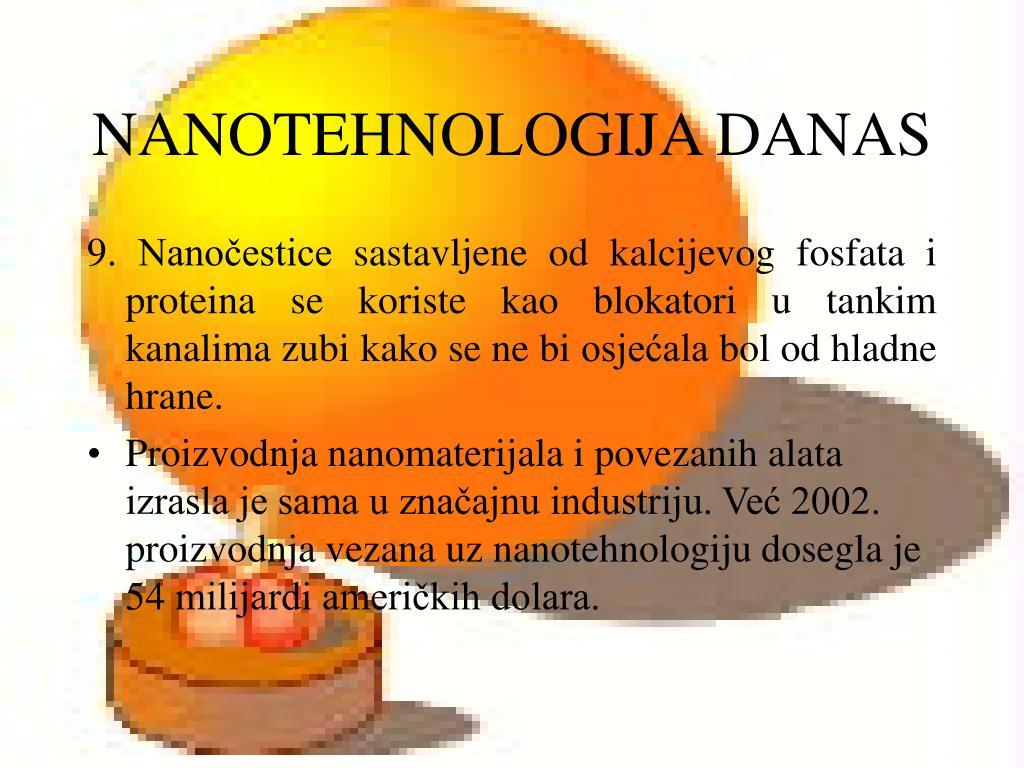 NANOTEHNOLOGIJA DANAS