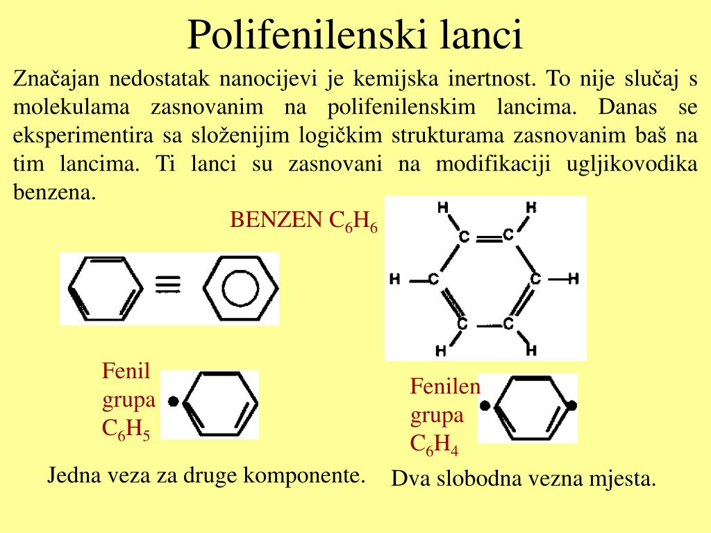Polifenilenski lanci