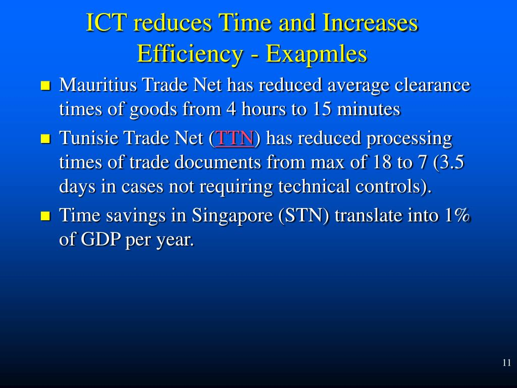 Mauritius Trade Net has reduced average clearance times of goods from 4 hours to 15 minutes