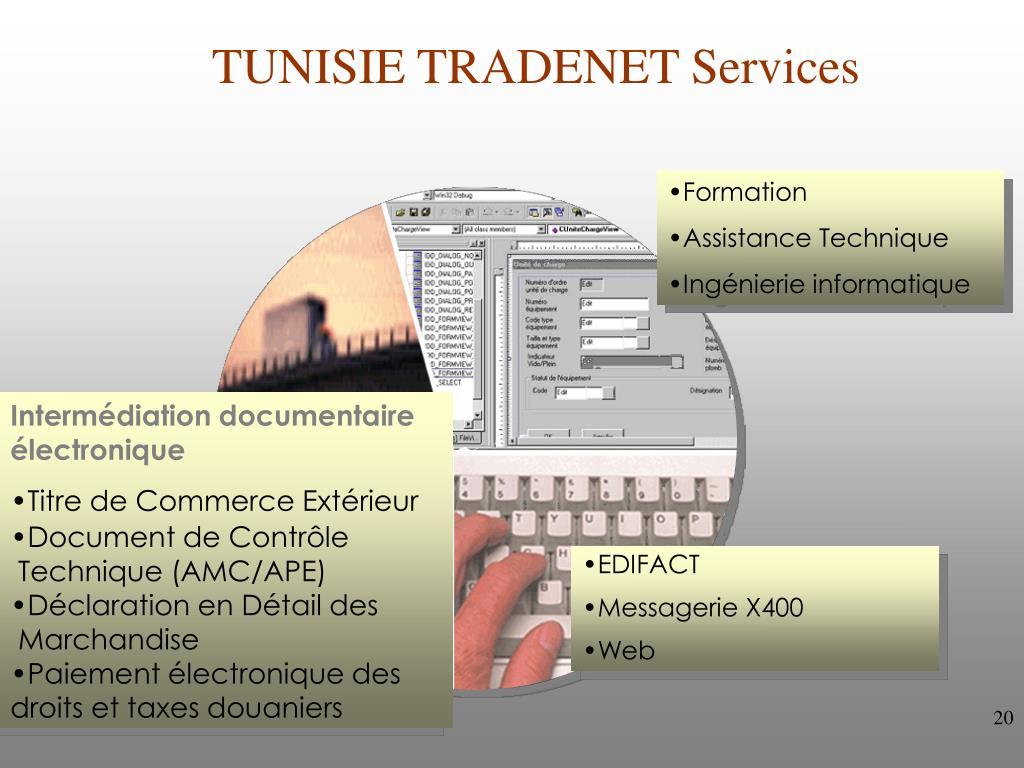 TUNISIE TRADENET Services
