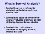 what is survival analysis