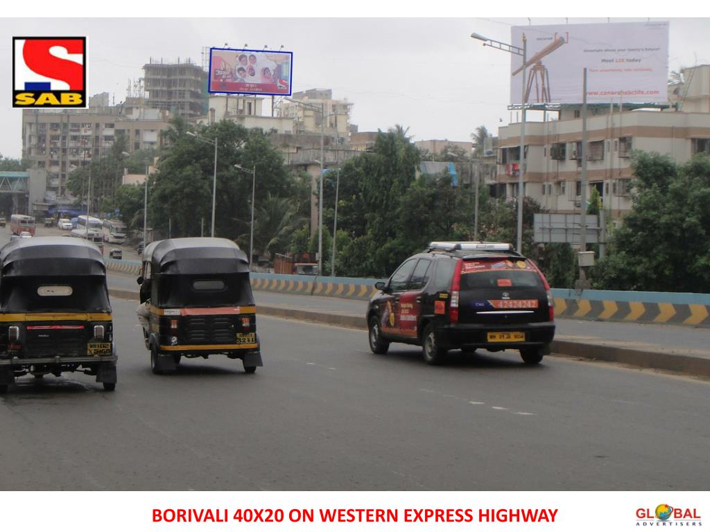 BORIVALI 40X20 ON WESTERN EXPRESS HIGHWAY