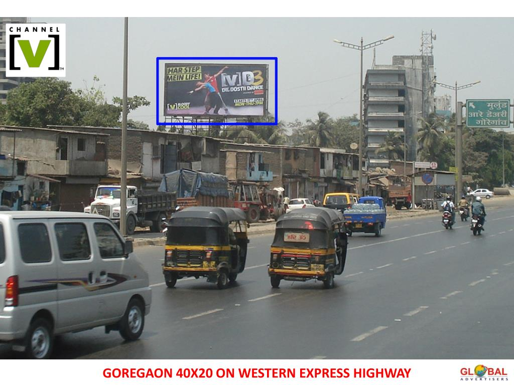 GOREGAON 40X20 ON WESTERN EXPRESS HIGHWAY