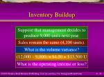 inventory buildup32