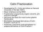 cohn fractionation