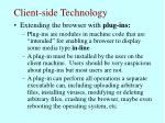 client side technology63