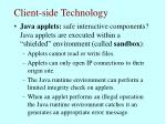 client side technology64