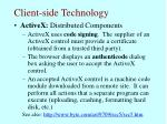 client side technology66