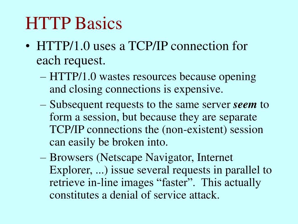 HTTP Basics