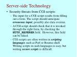 server side technology50