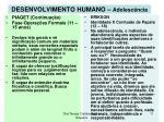 desenvolvimento humano adolesc ncia11