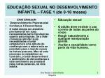 educa o sexual no desenvolvimento infantil fase 1 de 0 18 meses3
