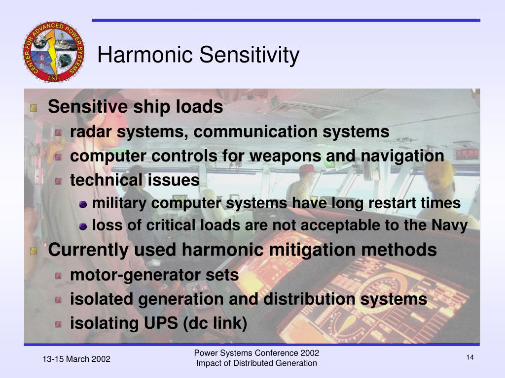 Harmonic Sensitivity