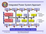 integrated power system approach