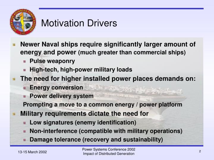 Motivation drivers