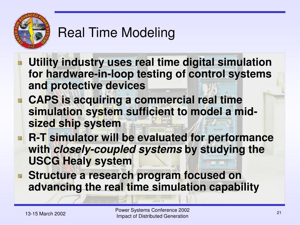 Real Time Modeling