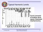typical harmonic levels13