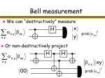 bell measurement
