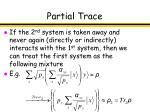 partial trace30