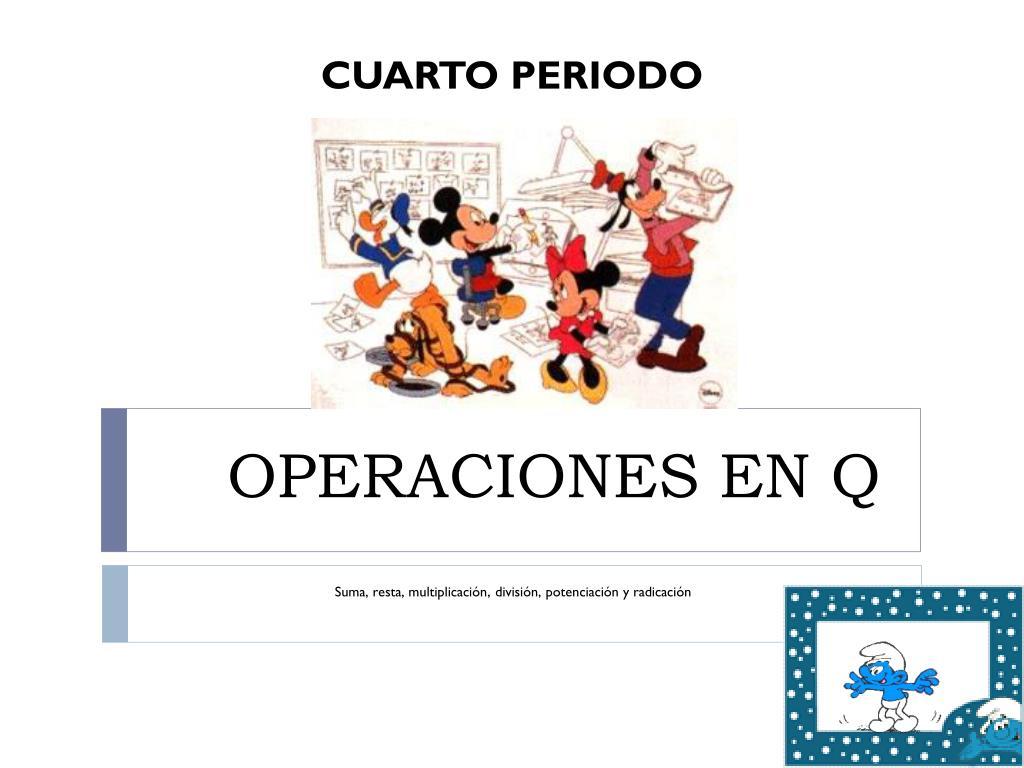 operaciones en q l.