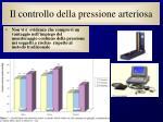 il controllo della pressione arteriosa