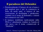 il paradosso del debendox145