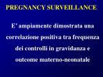 pregnancy surveillance