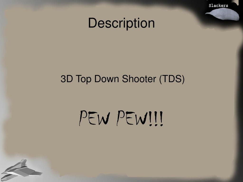 3D Top Down Shooter (TDS)