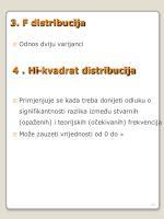 3 f distribucija