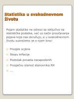statistika u svakodnevnom ivotu
