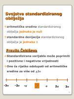 svojstva standardiziranog obilje ja
