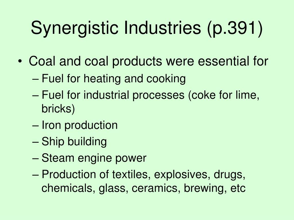 Synergistic Industries (p.391)