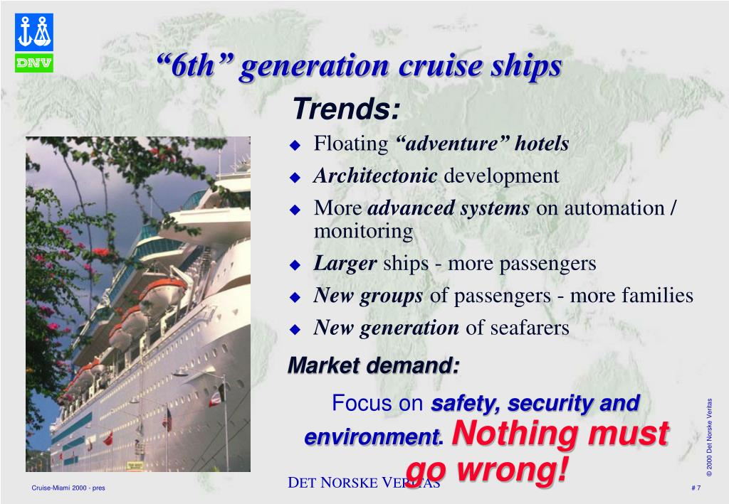 """6th"" generation cruise ships"