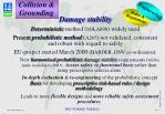 damage stability