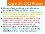 august 29 2003 example47