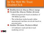 in the web we trust doubleclick