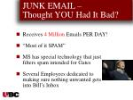 junk email thought you had it bad