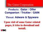 the gator corporation