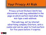 your privacy at risk34