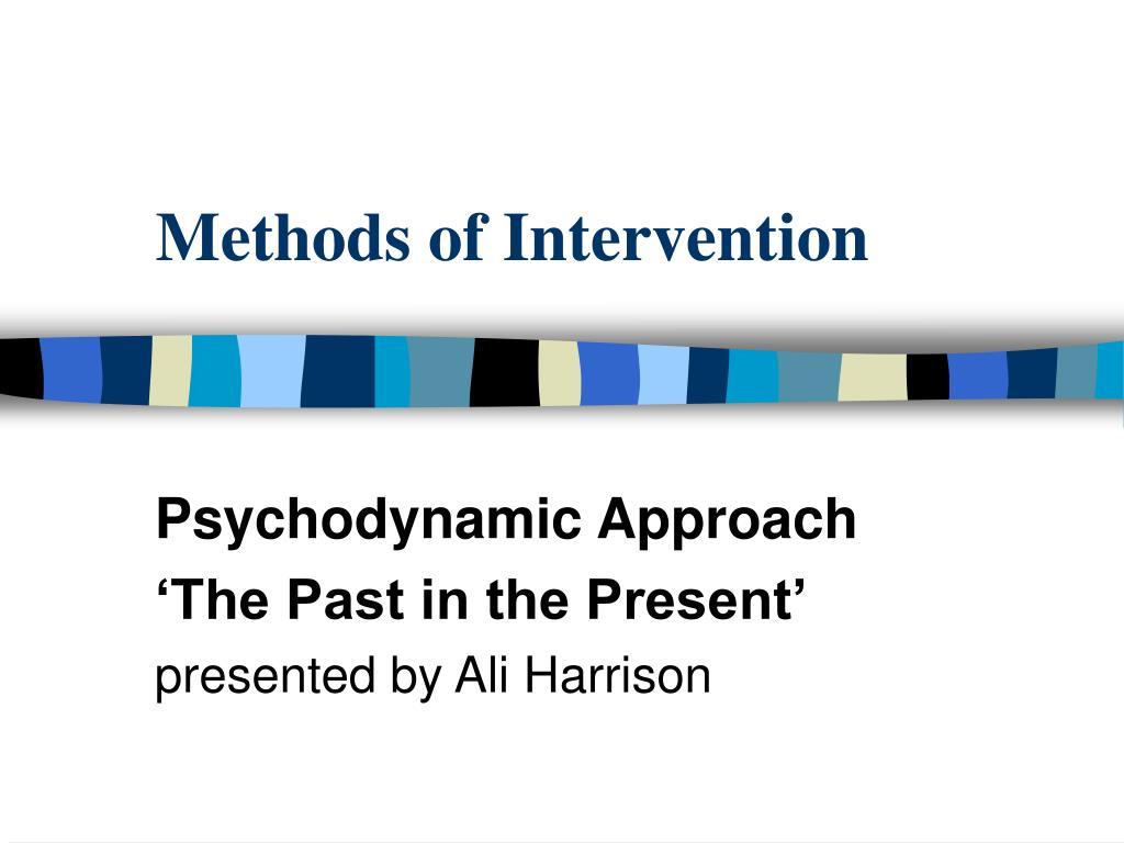 methods of intervention l.