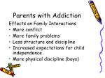 parents with addiction